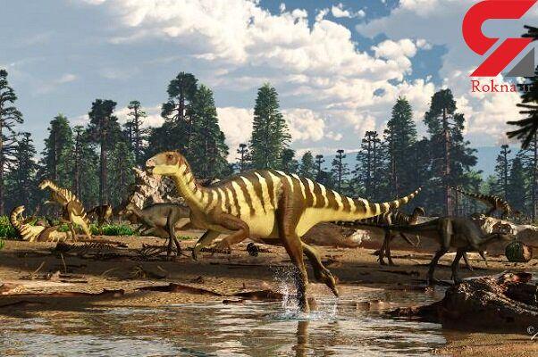 فسیل ۱۲۵ میلیون ساله دایناسور کشف شد