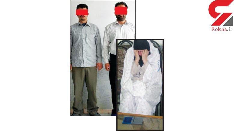 این زن مطلقه بخاطر 3 بچه اش تن به گناه داد ! + عکس سمیرا و متهم مرد