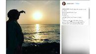بازیگر زن ایرانی منتظر تولد فرزندش است +عکس