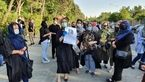 """گرد هم آمدن دوستان و دانشجویان """"بابک خرمدین"""" در شهرک اکباتان+ فیلم و عکس"""