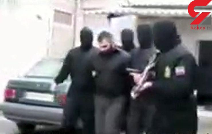 شبیخون پلیس به پهلوان پنبههای تلگرامی مازندران + فیلم