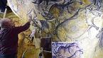 اثر هنرمندان باستانی در غار فرانسوی