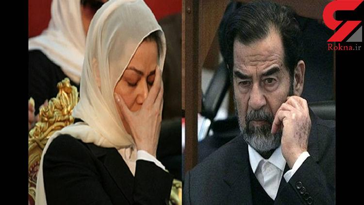 دختر صدام و بعثیها برای ضدایرانی کردن اعتراضات عراق تلاش می کنند