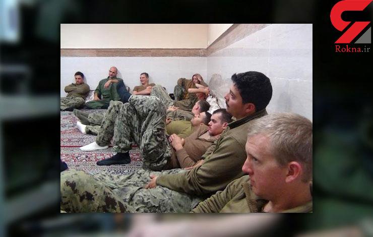 24 ساعت بازداشت تفنگداران آمریکایی در ایران + فیلم