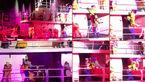 فیلم حادثه عجیب برای سفید برفی در جشن عروسک های والت دیزنی+تصاویر