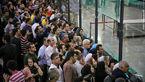 استقبال پر شور مردم در فرودگاه از تیم فوتبال پرسپولیس+فیلم