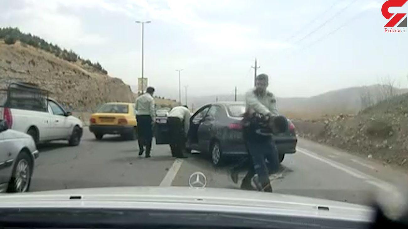 فیلم تعقیب و گریز هالیوودی پلیس تهران با تبهکاران