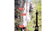 فرار از مرگ معجزه آسای پسر 3 ساله پس از سقوط از آبشار+تصاویر