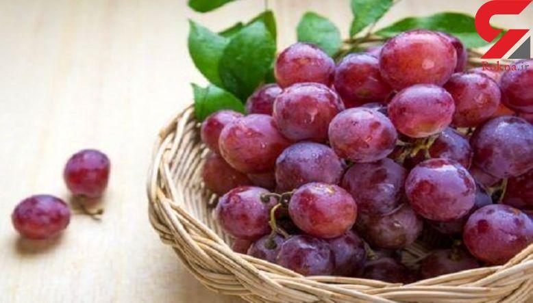 کاهش کلسترول خون با انگور