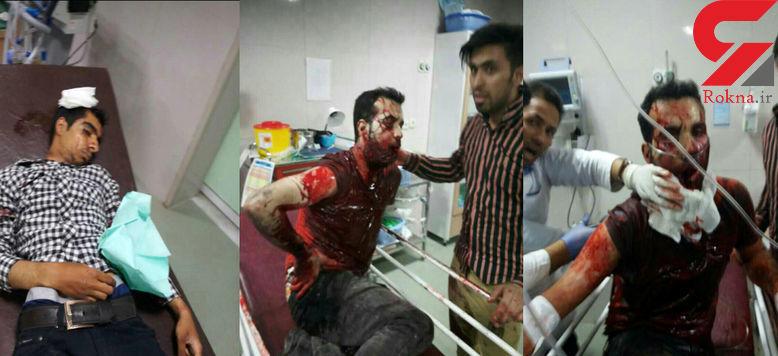 عکس های دلخراش از حوادث شب چهار شنبه کازرون / اطلاعیه وزارت کشور