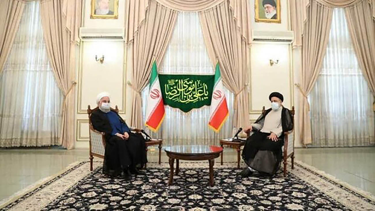 Rouhani meets President-elect Raeisi