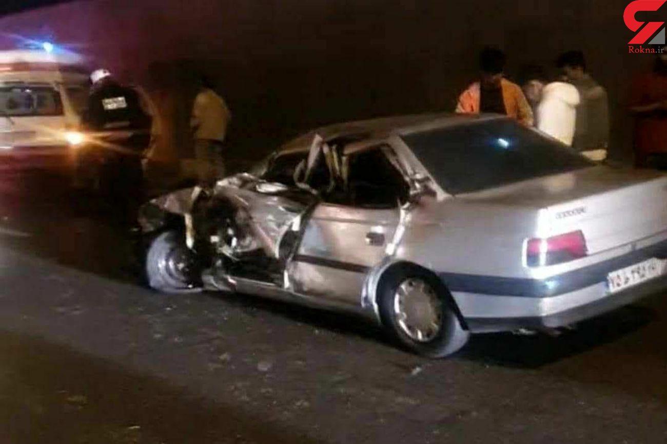 راننده اپتیما تماشاچی یک تصادف را زیر گرفت و کشت / در کرج رخ داد +فیلم و عکس