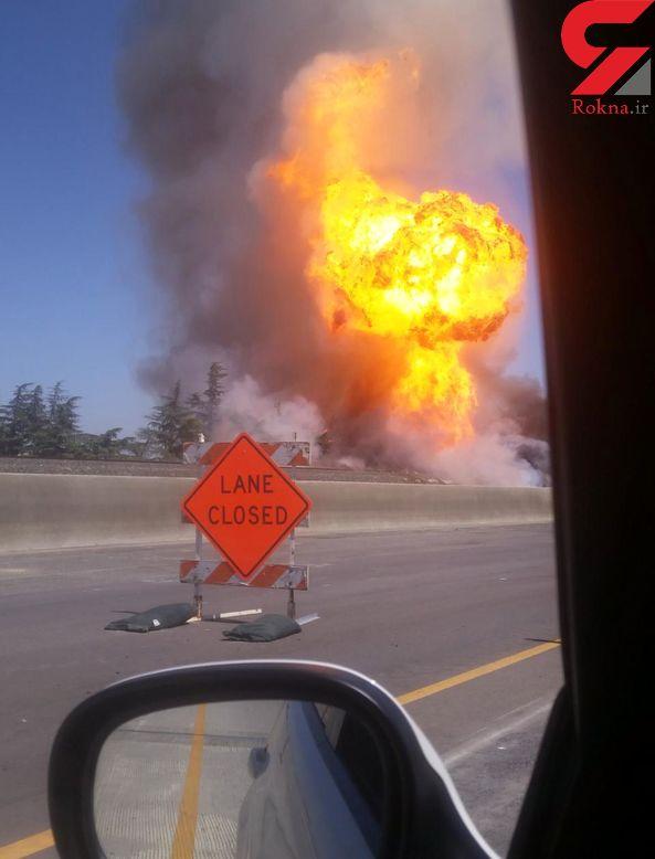 15 زخمی در انفجار لوله گاز کالیفرنیا