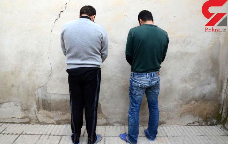 دستگیری دزدان خیابان های بجنورد در خانه ای مخفی+عکس
