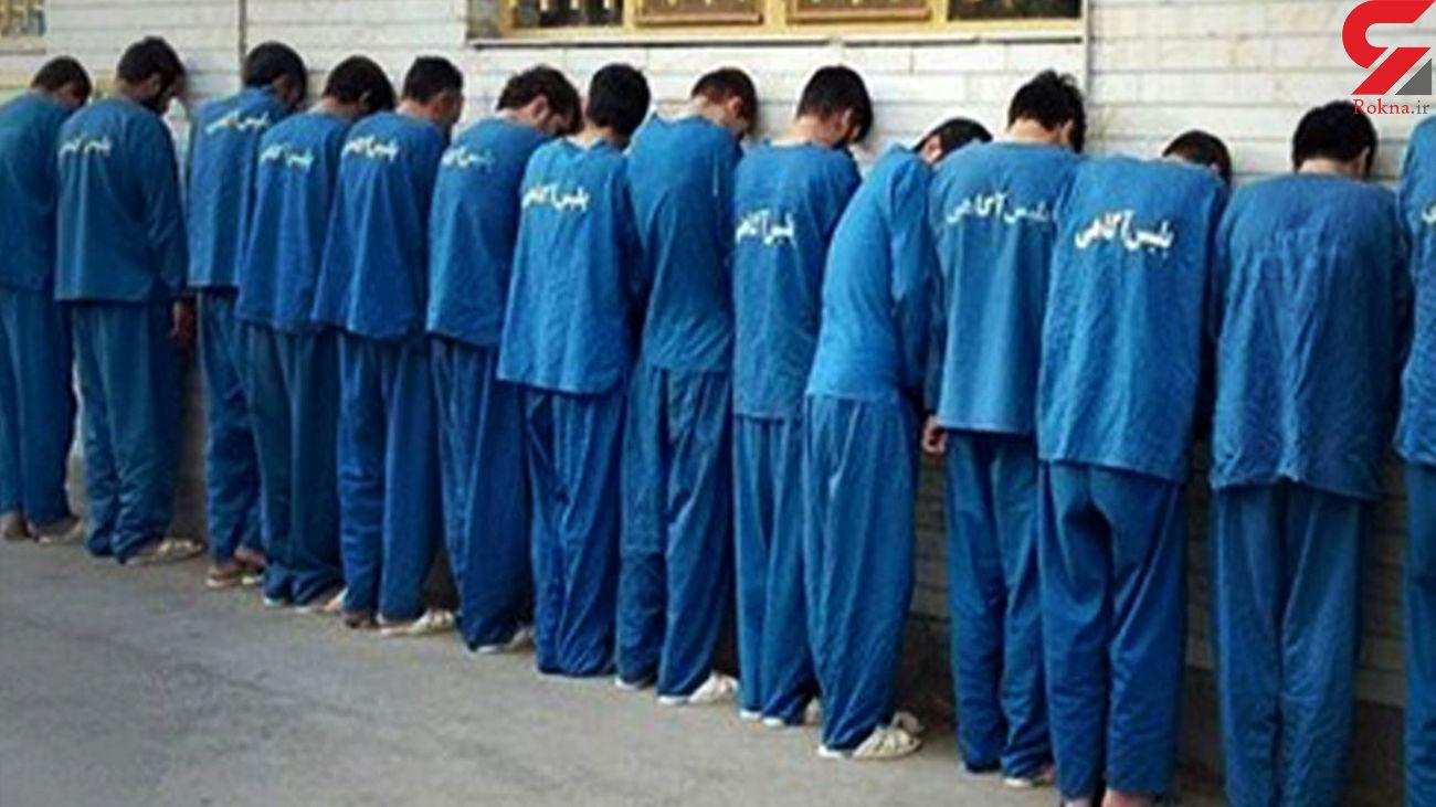 بازداشت 40 مجرم فراری در بوشهر