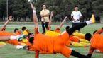 دومین تمرین نفت تهران با حضور بازیکنان جدید و علی کریمی + تصاویر