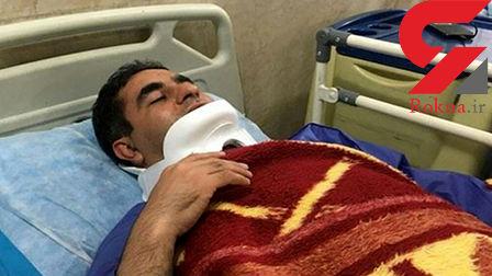 ماموران شهرداری خبرنگار قزوینی را به قصد کشت زدند +عکس