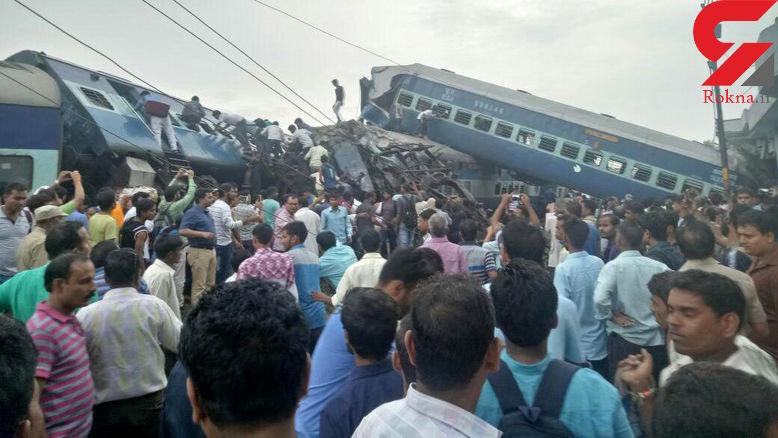 فوری / خروج قطار از خط با چندین کشته و زخمی + عکس