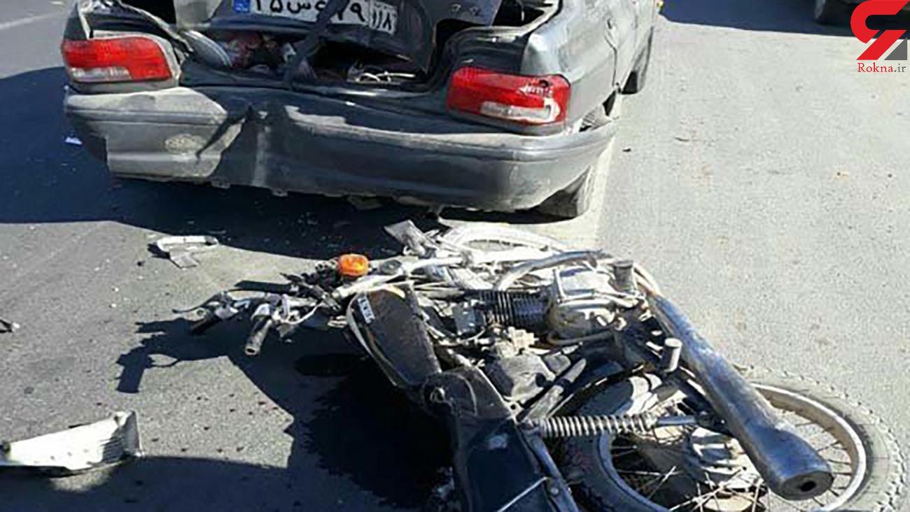 9 مصدوم و یک کشته در حوادث رانندگی قزوین