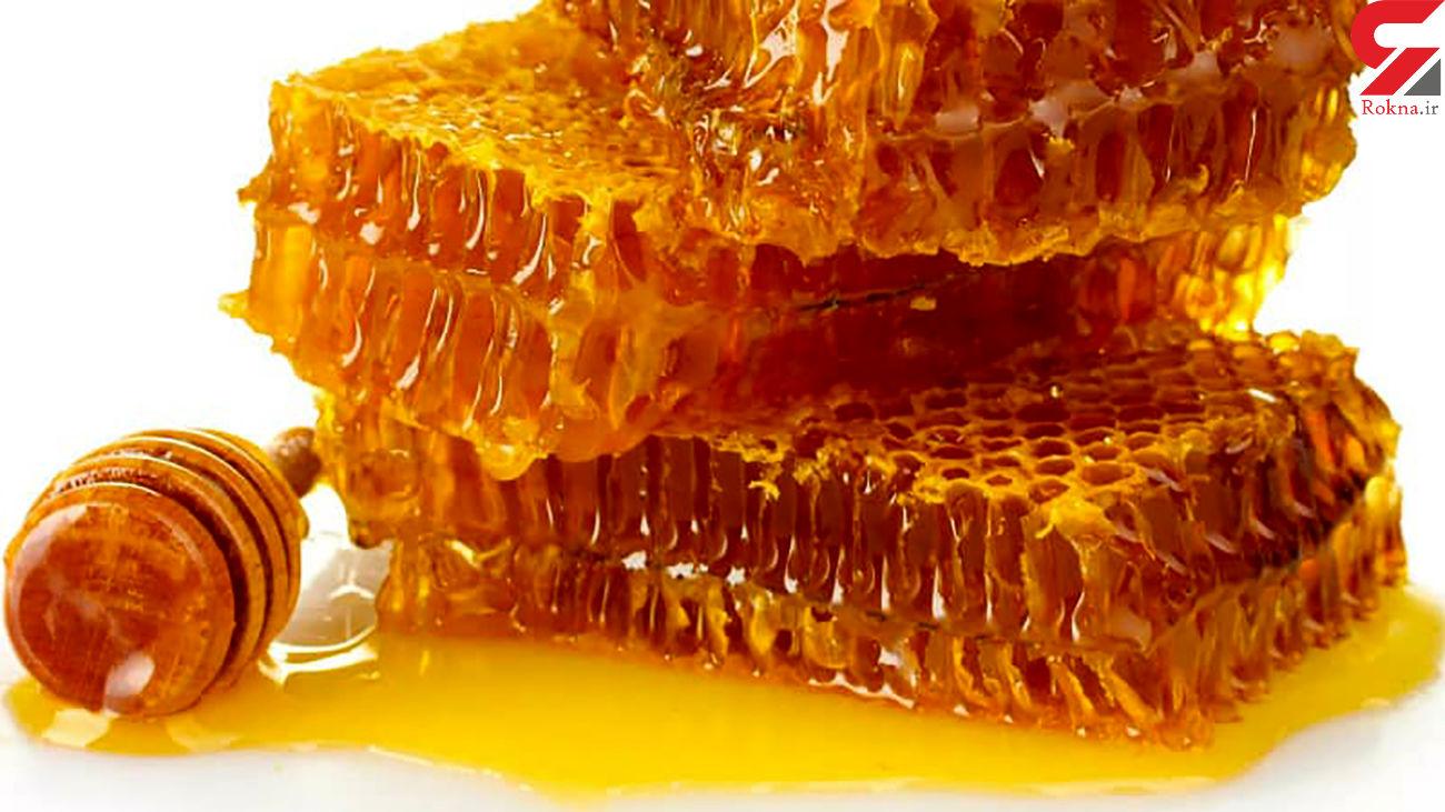 درمان گلودرد و سرفه با عسل
