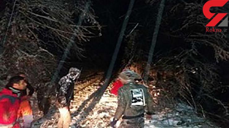 یخ زدگی هولناک 4 جوان گمشده در جنگل های برفی مازندران +عکس