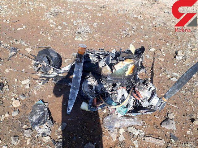 خلبان و یک زن چرا کشته شدند! / زنده بودن آنها بعد از سقوط هواپیما در گرمسار!+ فیلم