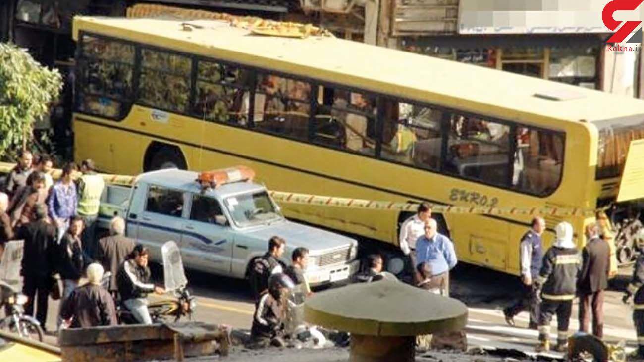 اتوبوس بدون راننده وارد مغازه ای در مشگین شهر شد / مشتری مغازه کشته شد