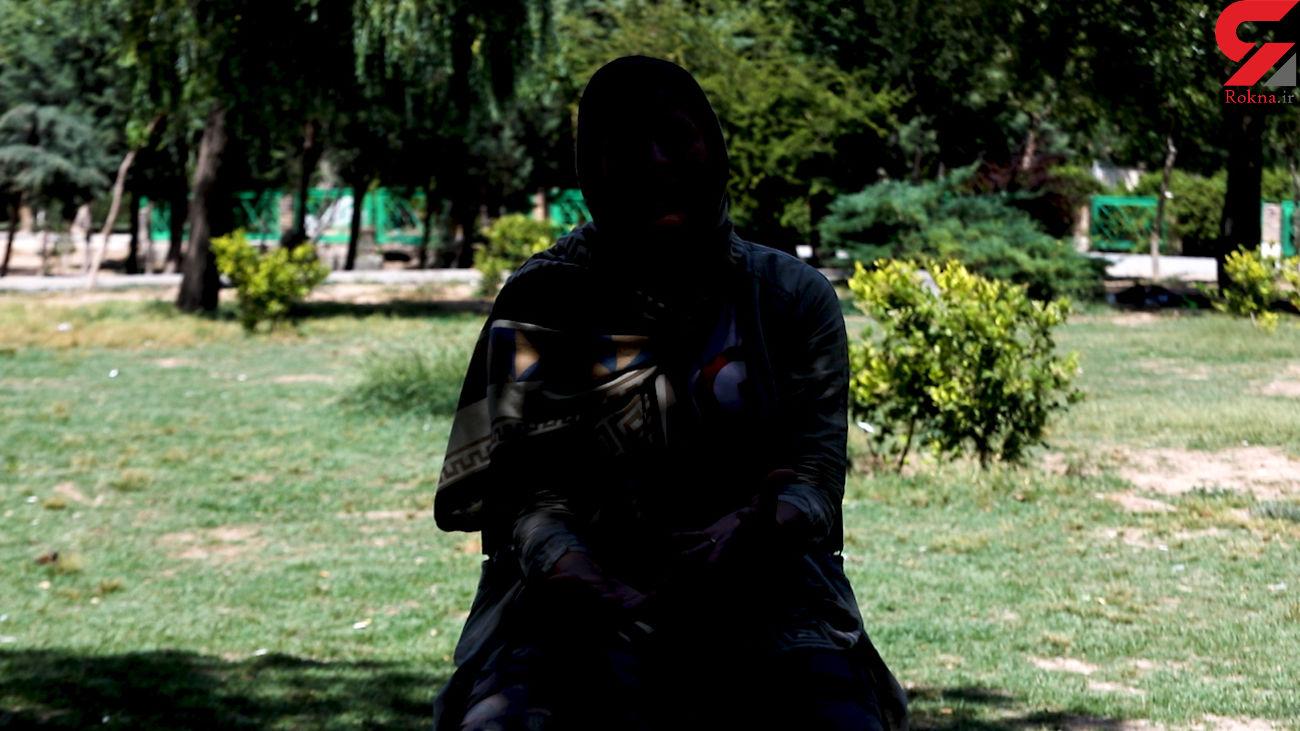 تن فروشی افسانه با فرار از دست ناپدری پلید + فیلم گفتگو با دختر فراری در تهران