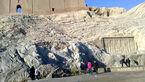صحنه ای زشت در آثار تاریخی / موش به جای آب در چشمه علی !+عکس