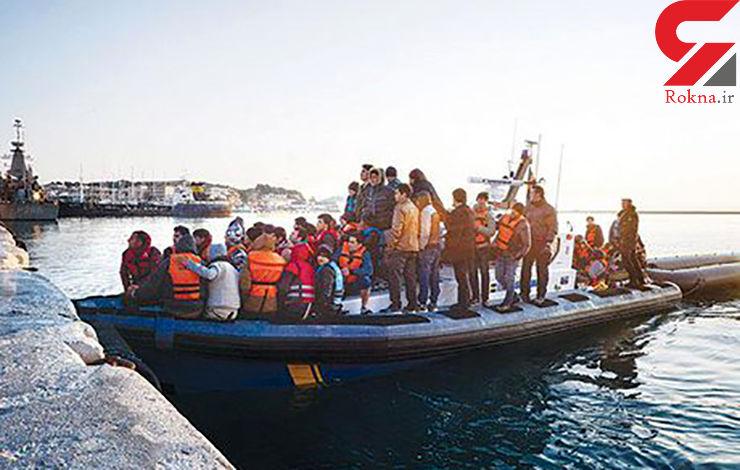 نجات ۶۵۰۰ مهاجر در آبهای نزدیک لیبی
