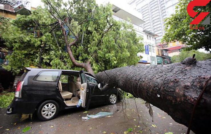 طوفان ارل در مکزیک قربانی گرفت+عکس