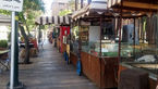 گلایه کسبه خیابان سی تیر از دکههای اغذیه فروش