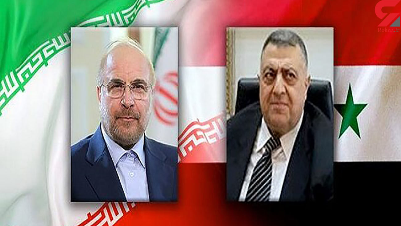 Ghalibaf felicitates successful holding of elections in Syria