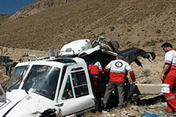 Rescue helicopter crashes in W Iran