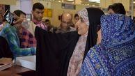 مجری معروف زن در نمایشگاه کتاب تهران +عکس