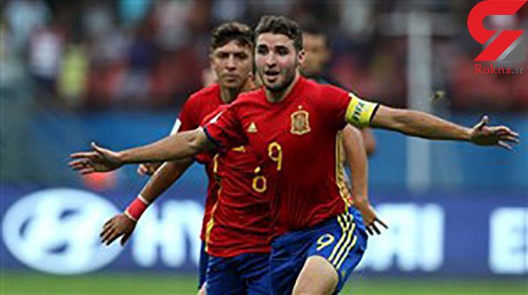راه آسان اسپانیا برای حضور در فینال جام جهانی