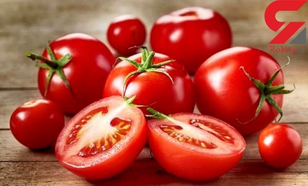 رگه های سفید گوجه فرنگی مفید است