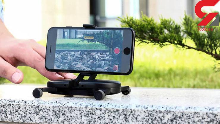 """""""کرین فیلمبرداری جیبی"""" برای گوشیهای موبایل ساخته شد+فیلم"""