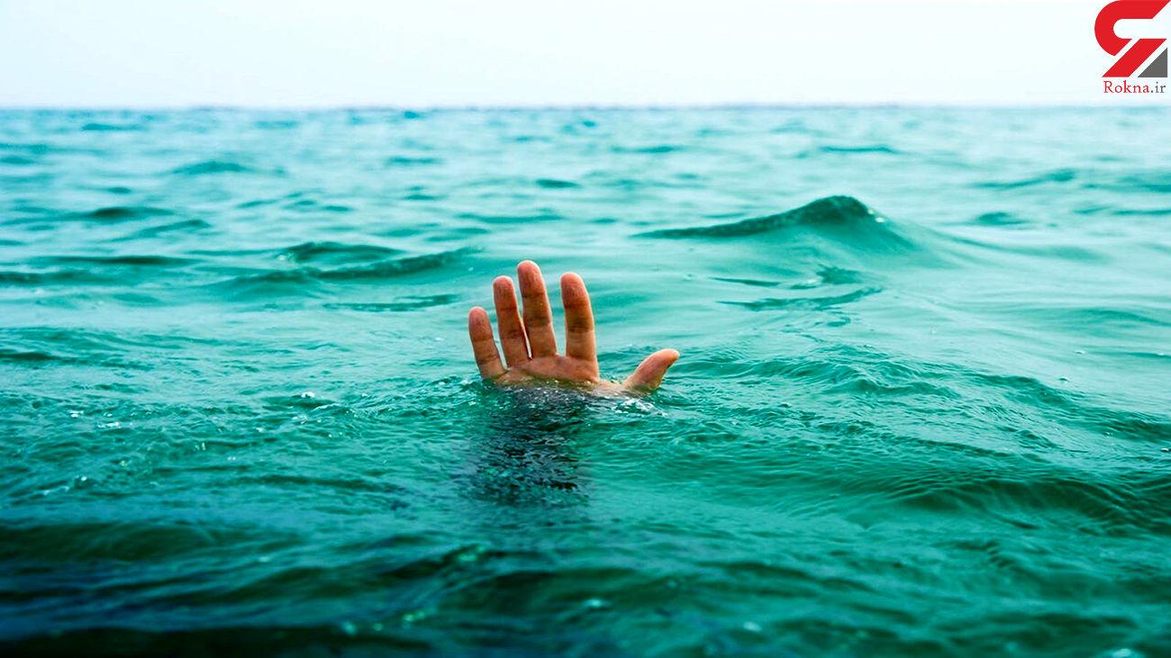 دریای خزر جوان گیلانی را بلعید