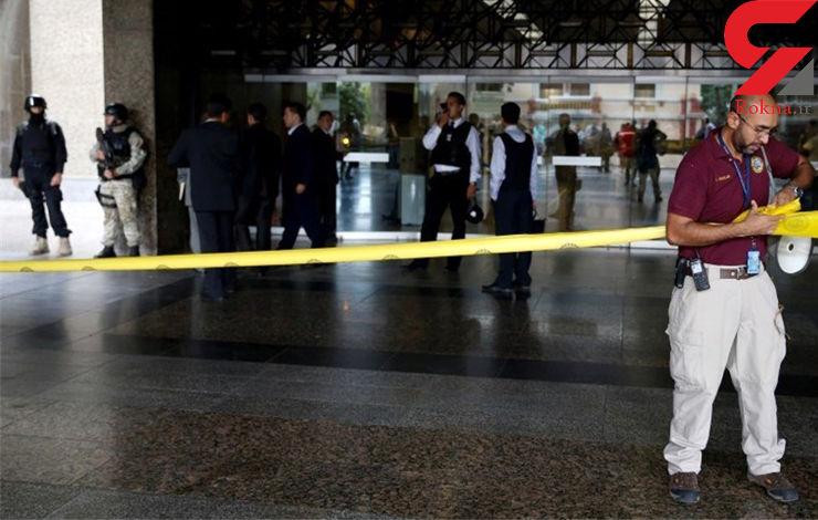 پایان گروگانگیری در بانک مرکزی ونزوئلا با مرگ فرد مسلح