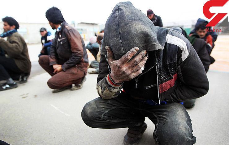 پاتک پلیس به مواد فروشان بزرگراههای تهران