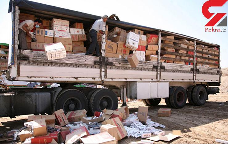 کشف هشت تن بادام قاچاق در دشتی بوشهر