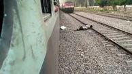 خودکشی مرد تهرانی روی ریل راه آهن / خود را جلوی قطار انداخت