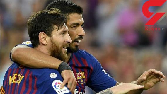 مارکا: مسی و سوارس به بازی با والنسیا میرسند
