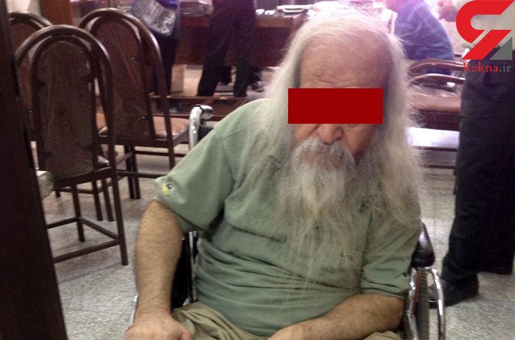 مرگ پدر پسر کش در بیمارستان