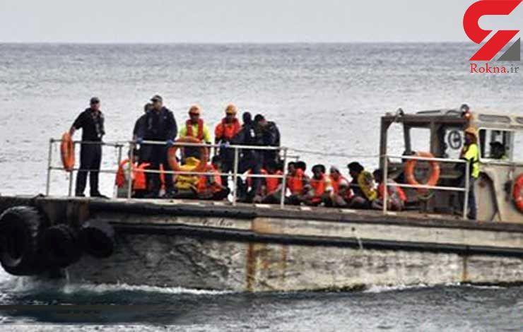 مرگ 5 پناهجو در دریای اژه