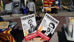 انتقال رهبر جدایی طلبان کاتالونیا به بیمارستان به دلیل اعتصاب غذا