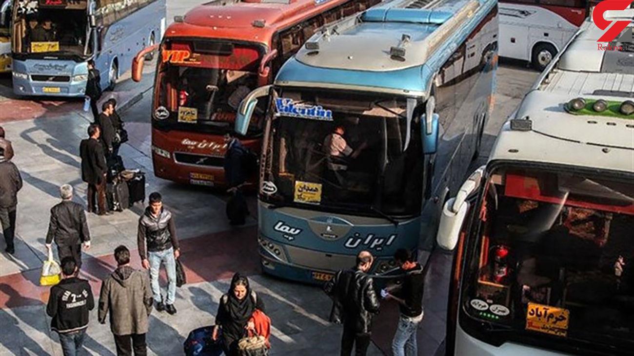 رشد ۱۵ درصدی جابجایی مسافر در کرمانشاه/ مینی بوس بیشترین حجم جابجایی مسافر