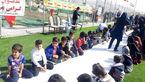 کاروان نشاط و امید انقلاب پیام شادی برای مردم روستای سرمستان بخش آبدان به ارمغان آوردند