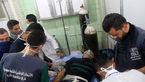 افزایش آمار مصدومان حمله شیمیایی تروریستها به حلب به 107 نفر